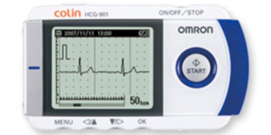 携帯型心電図検査
