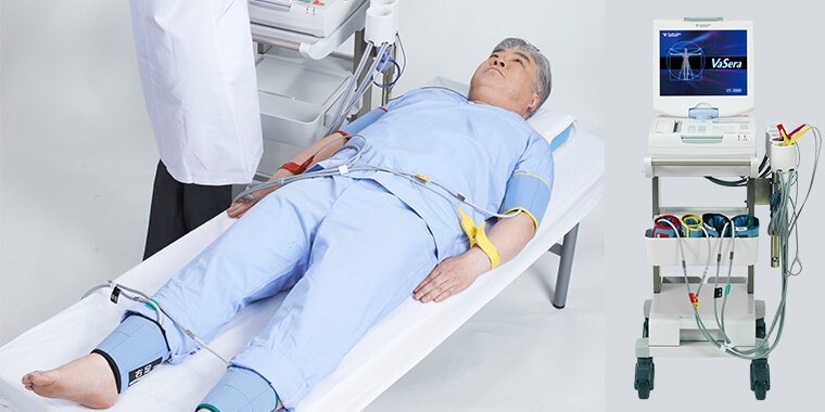 生理検査 血圧脈波測定