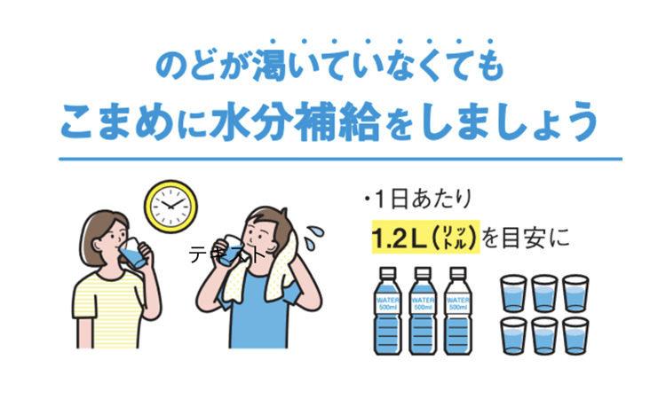 Vol.50:夏本番!感染予防と両立させる暑さ対策 しっかりと水分をとるべき理由とは